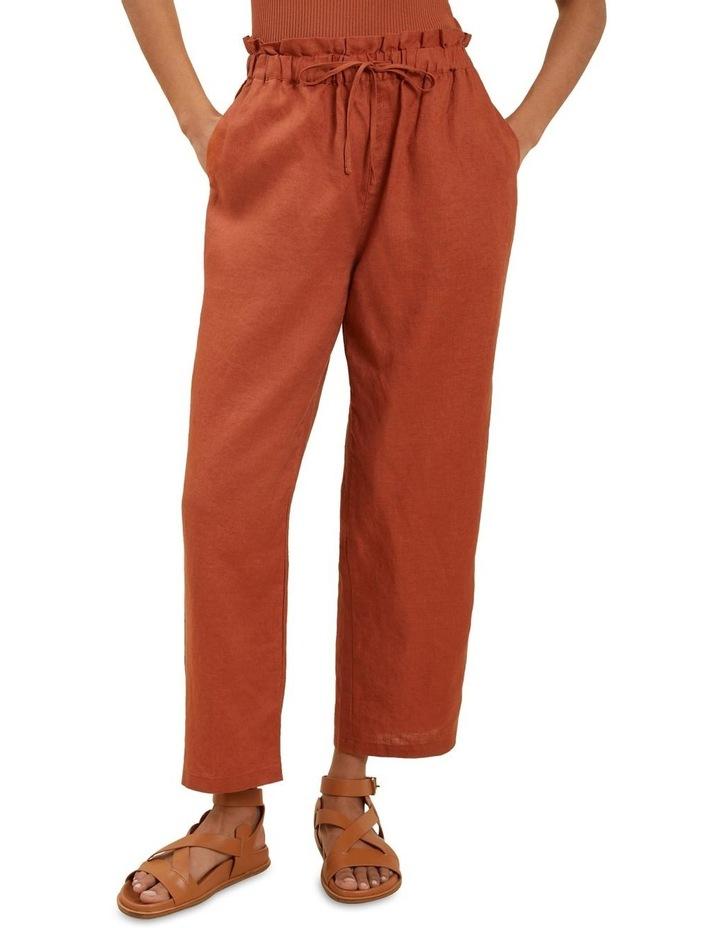 Core Linen Tie Up Pant image 1