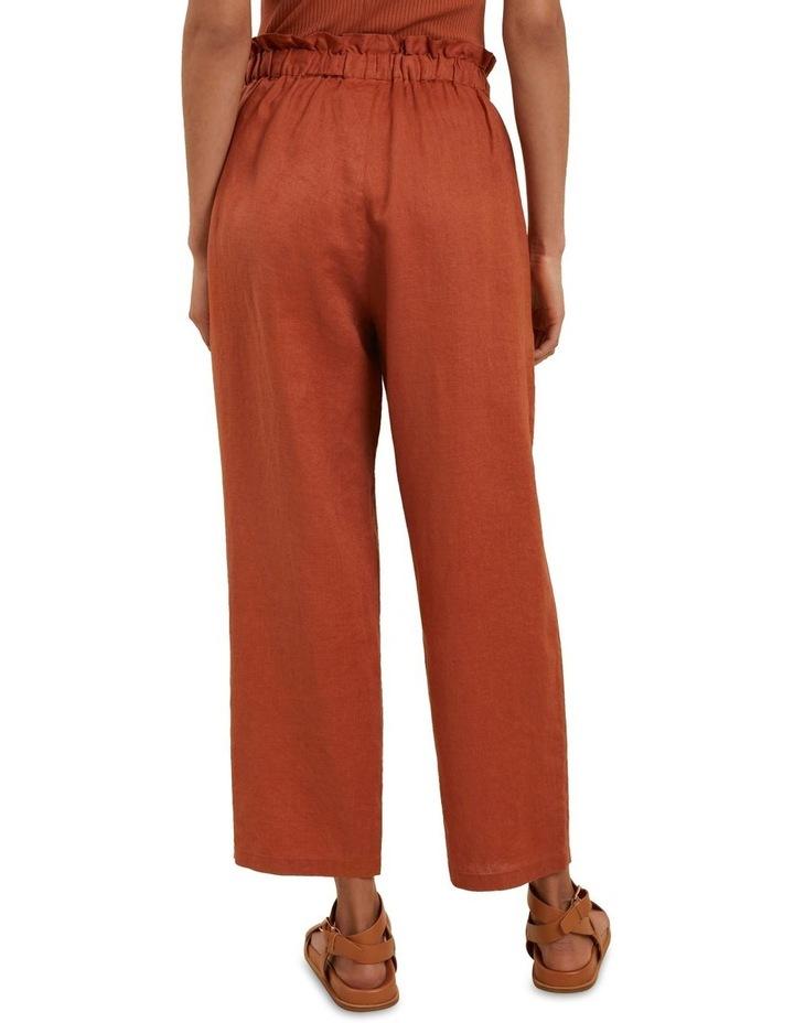 Core Linen Tie Up Pant image 3