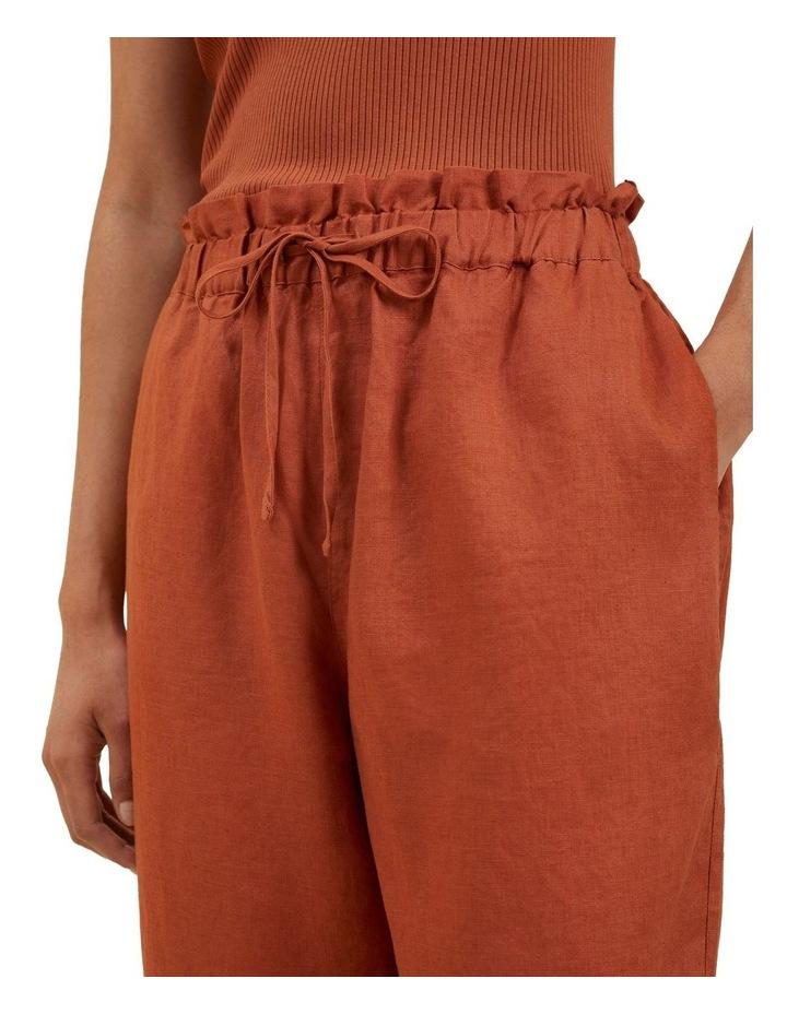 Core Linen Tie Up Pant image 4