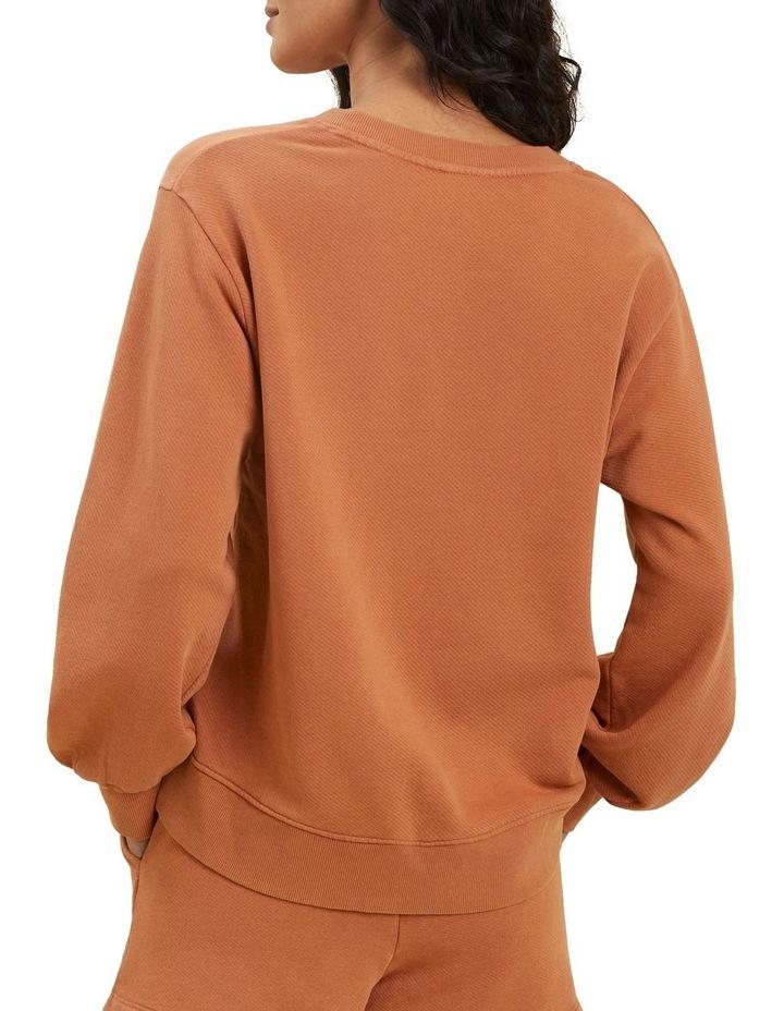 Vintage Wash V Neck Sweater image 3