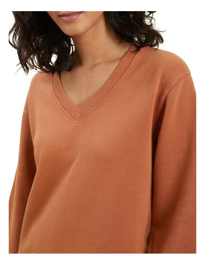 Vintage Wash V Neck Sweater image 4