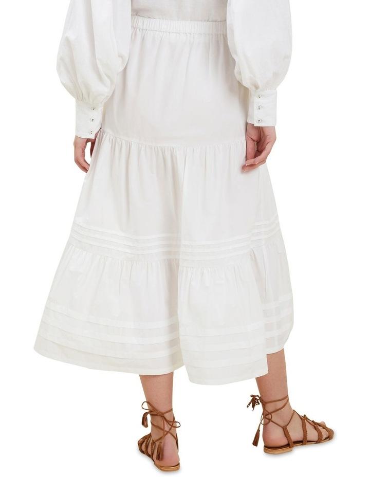 Poplin Tiered Skirt image 3