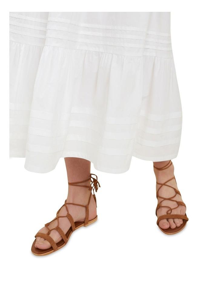 Poplin Tiered Skirt image 4