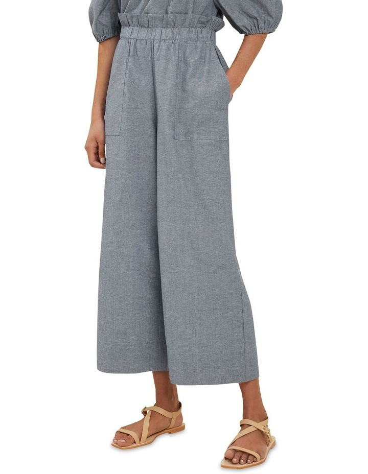 Sustainable Chambray Pants image 1
