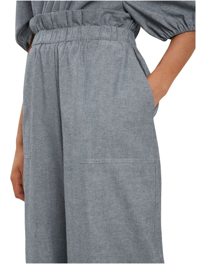 Sustainable Chambray Pants image 4