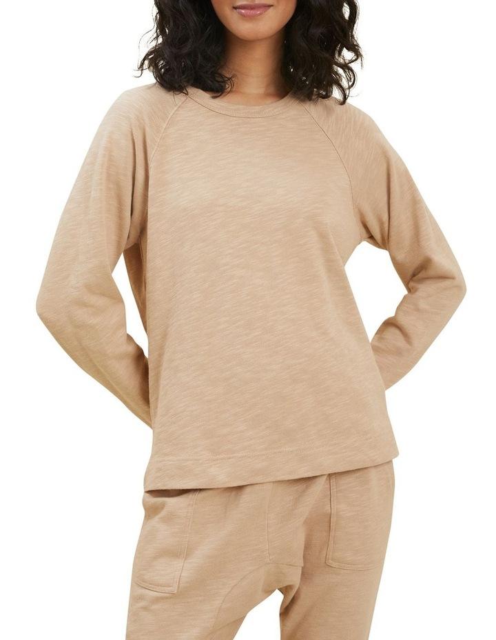 Cotton Slub Sweater image 1