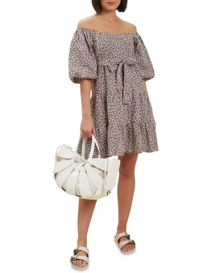 Linen Ditsy Mini Dress image 2