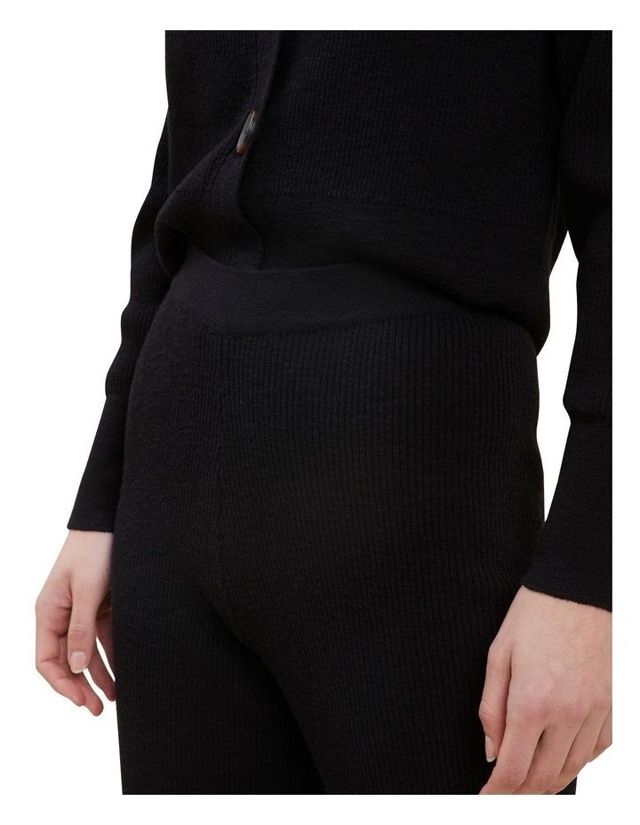 Boucle Knit Wide Leg Pants image 4