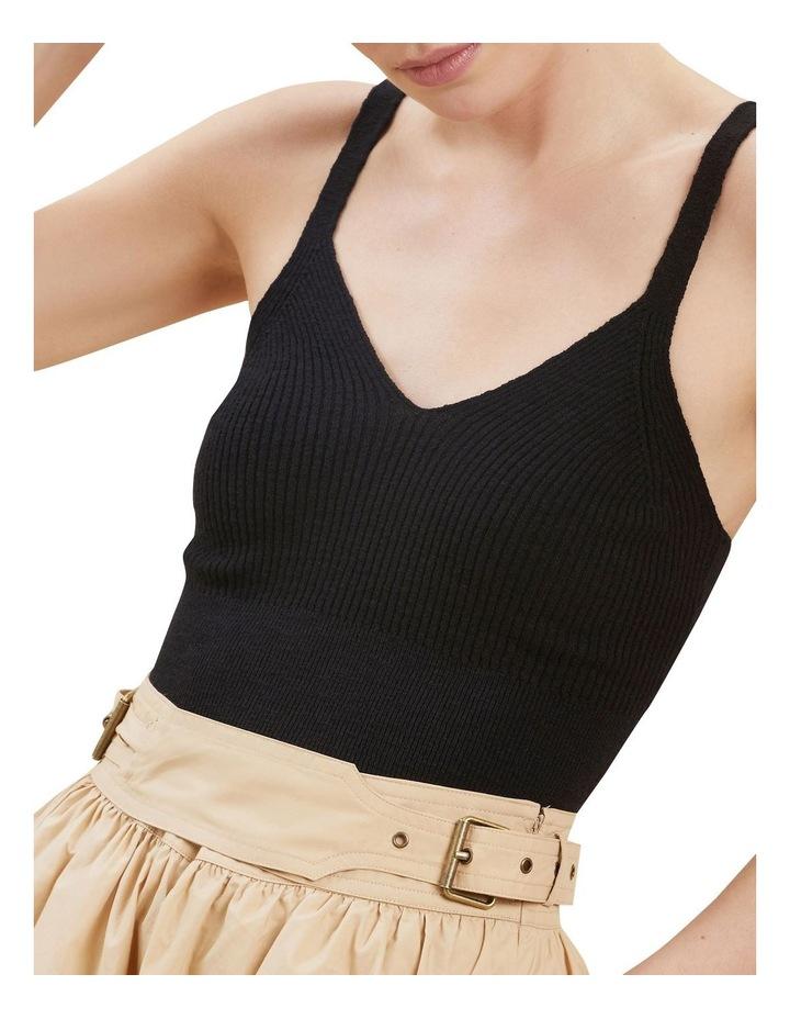 Boucle Knit Crop Top image 4