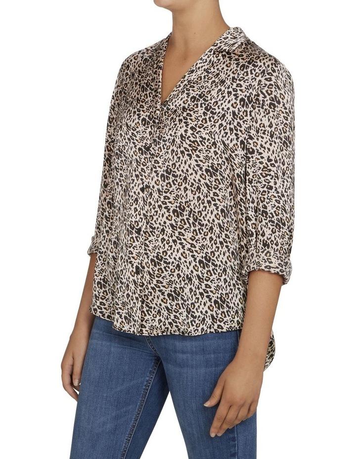 Animal Print Button Up Shirt image 2