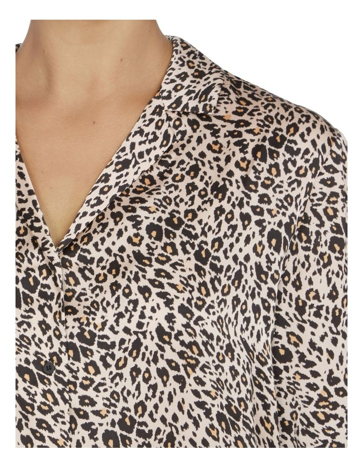 Animal Print Button Up Shirt image 4