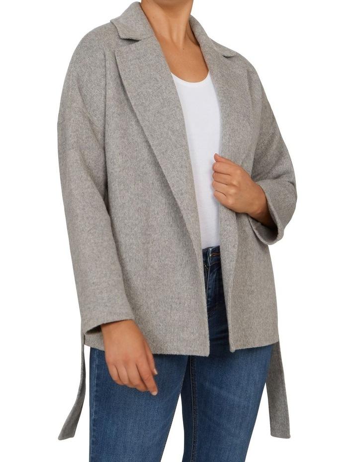 Belted Wrap Coat image 1