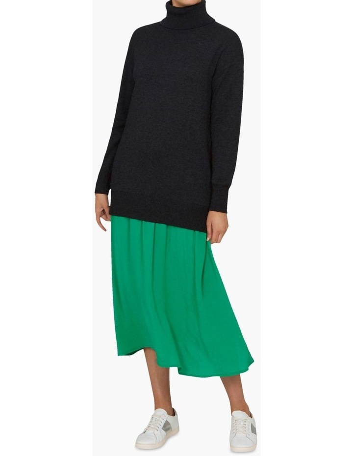 Spliced Sweater Dress image 1