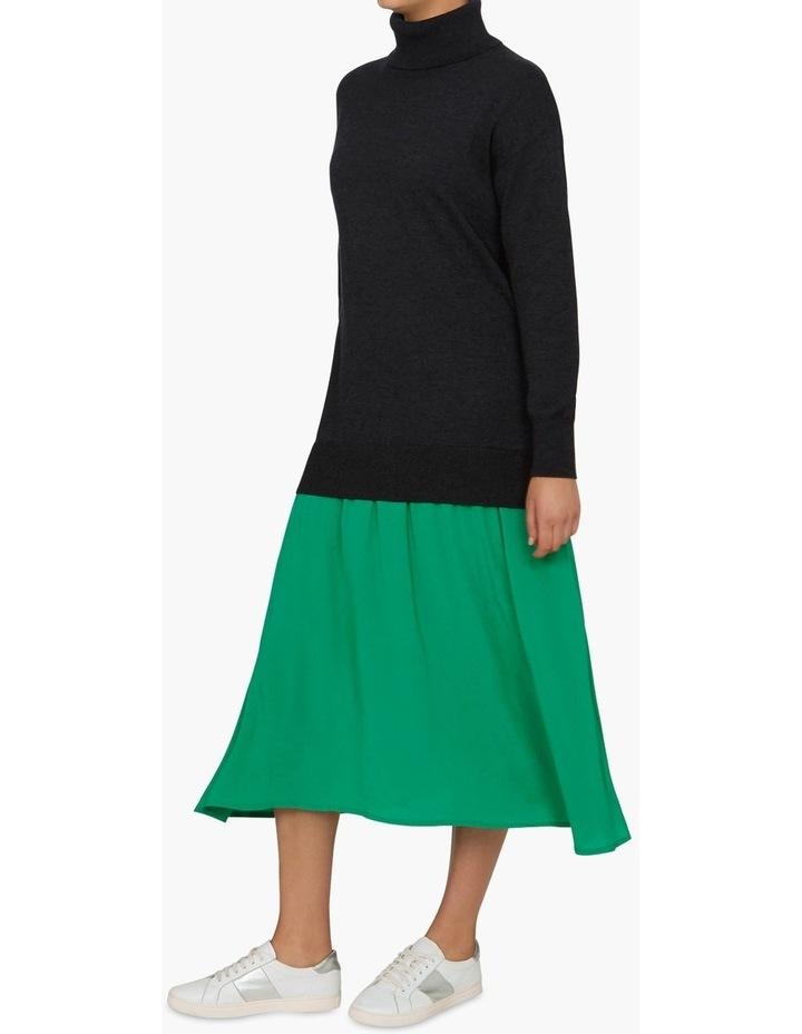 Spliced Sweater Dress image 2