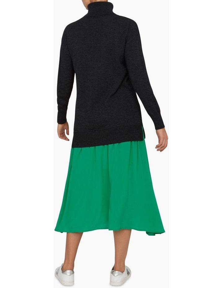 Spliced Sweater Dress image 3