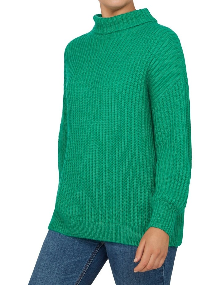 Roll Neck Slouchy Knit image 2