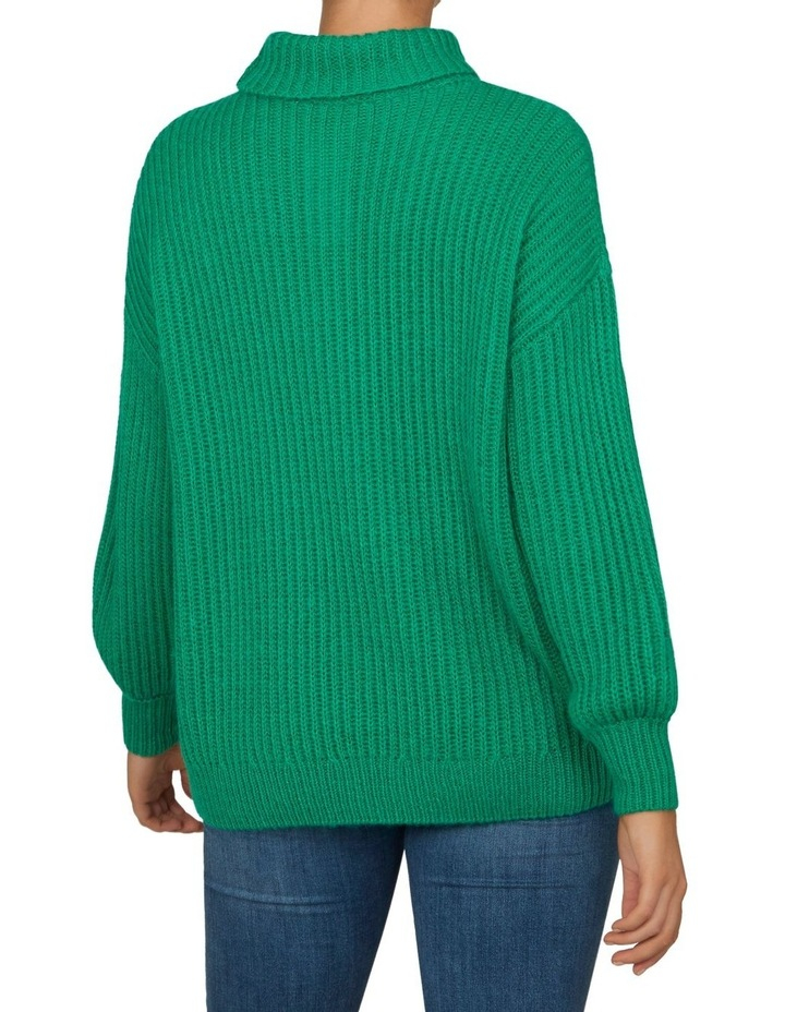 Roll Neck Slouchy Knit image 3