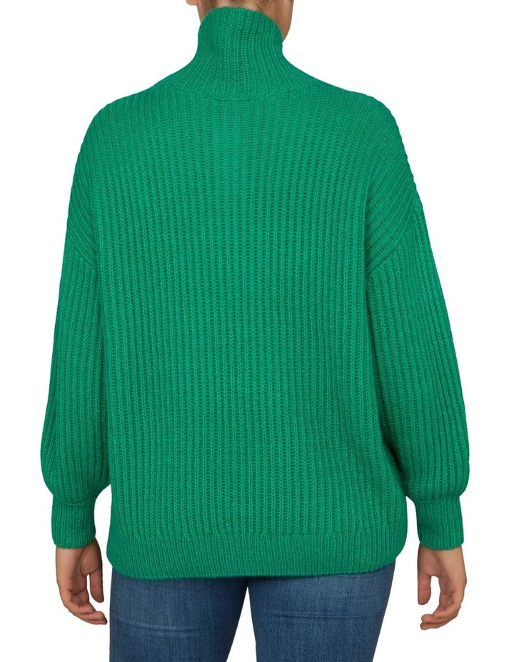 Roll Neck Slouchy Knit image 7