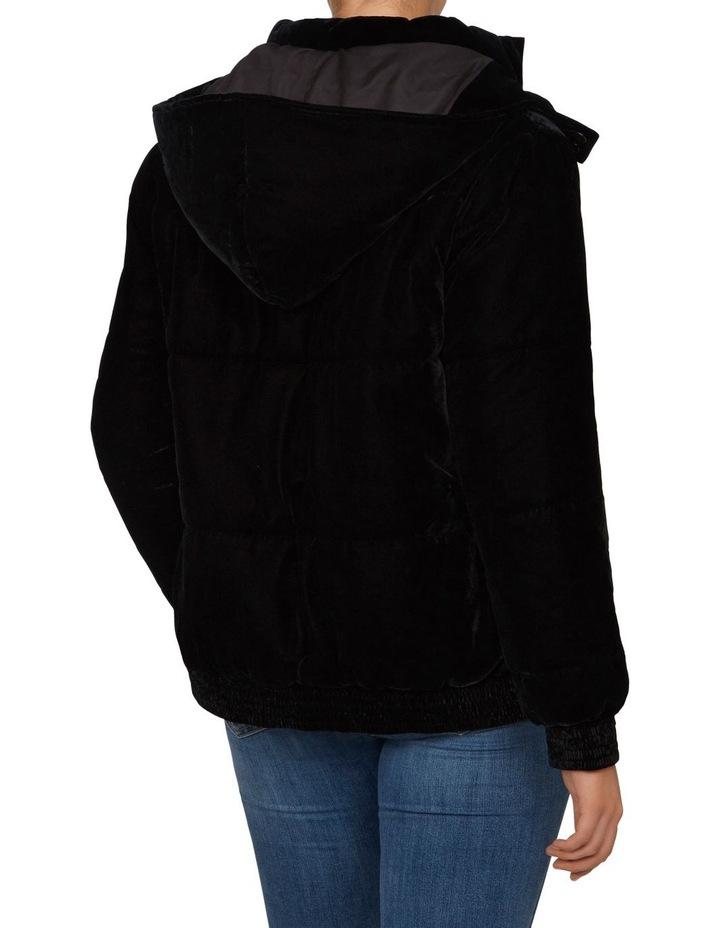 Velvet Puffer Jacket image 3