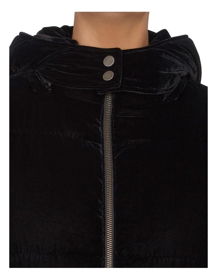 Velvet Puffer Jacket image 4