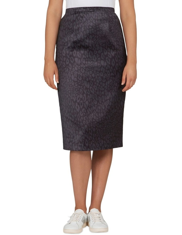 Monochrome Animal Pencil Skirt image 1