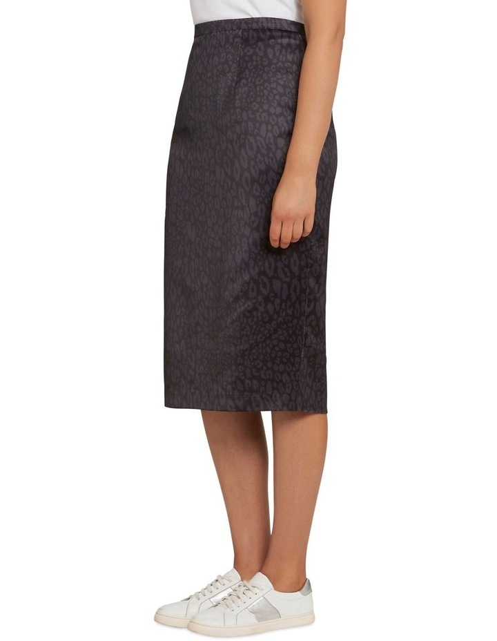 Monochrome Animal Pencil Skirt image 2