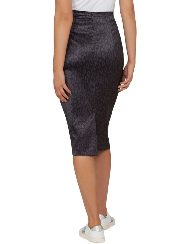 Monochrome Animal Pencil Skirt image 3