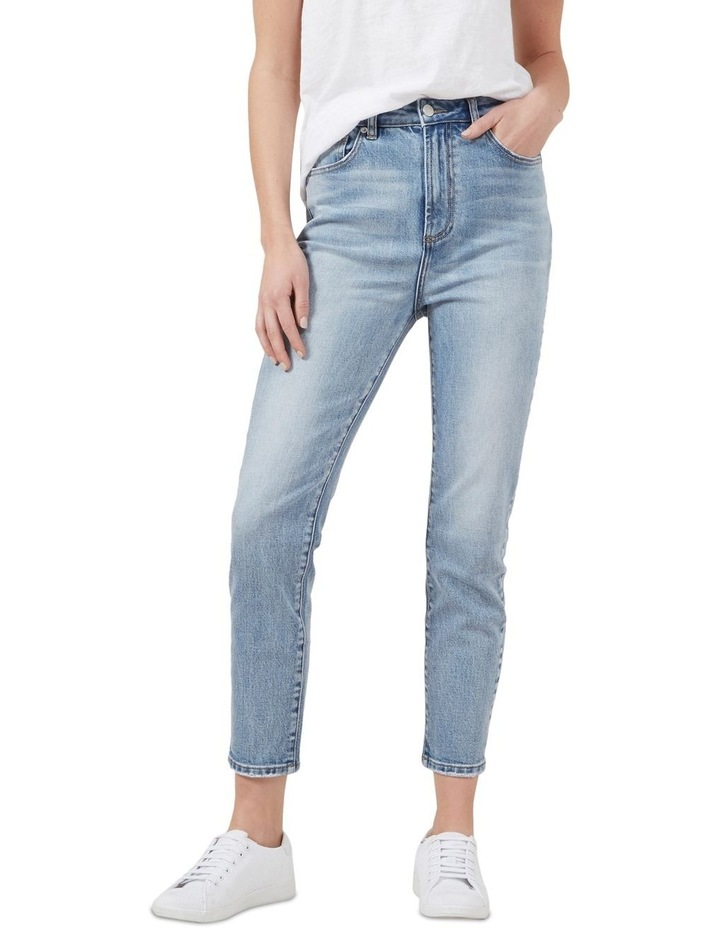 High Waist Slim Jeans image 1