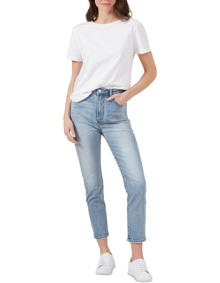 High Waist Slim Jeans image 2