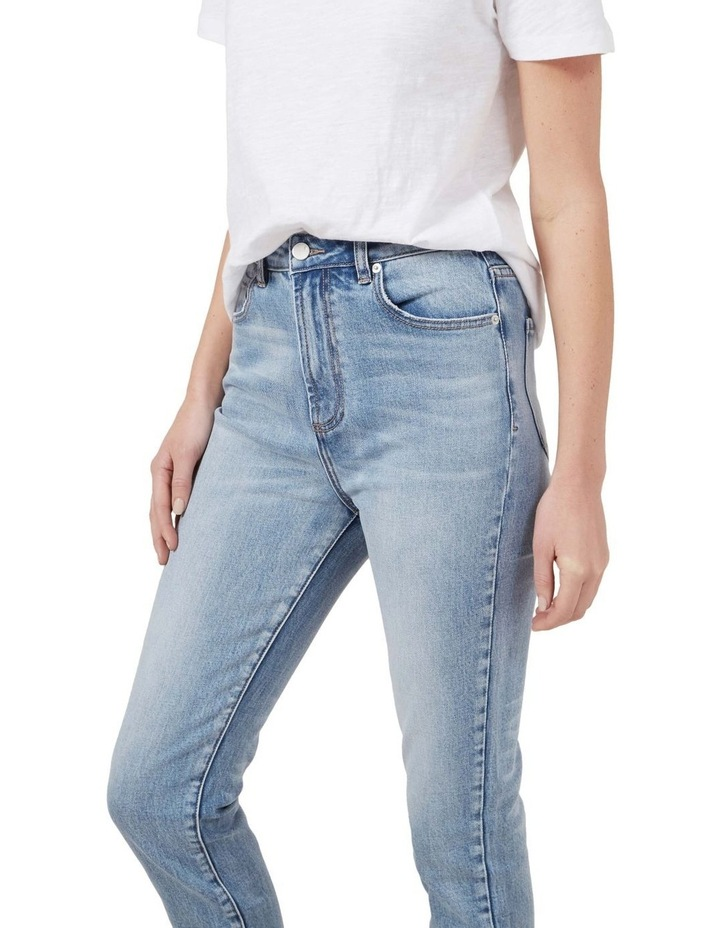 High Waist Slim Jeans image 4