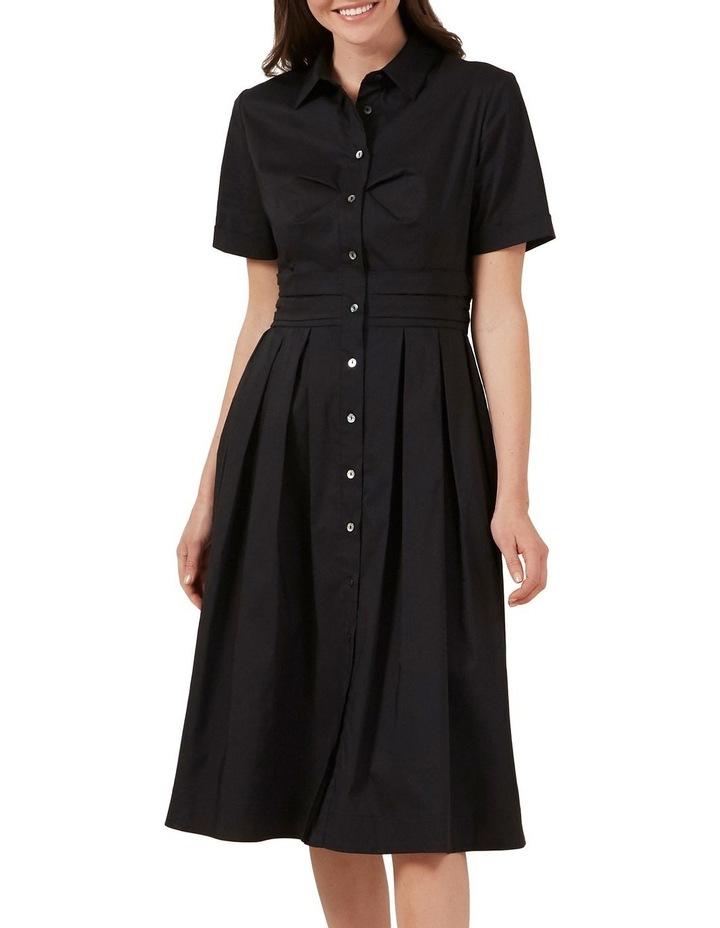 Full Skirt Shirt Dress image 1