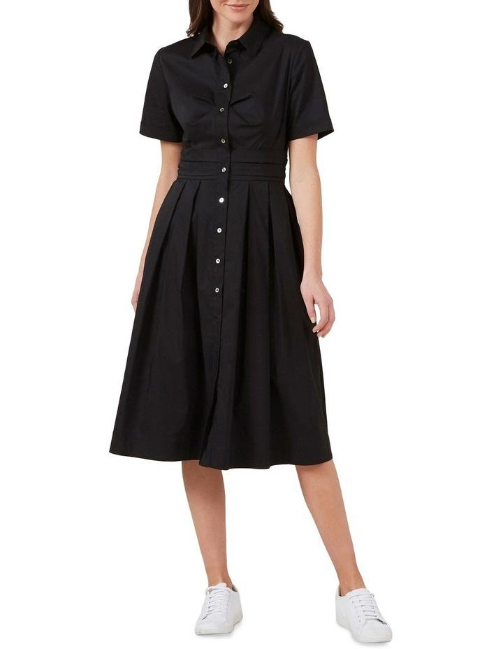 Full Skirt Shirt Dress image 2