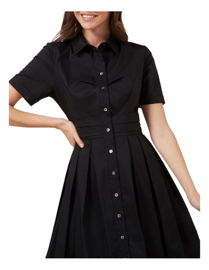 Full Skirt Shirt Dress image 4
