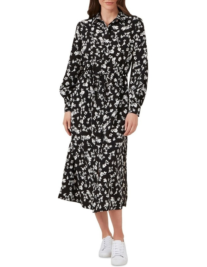 Floral Shirt Maxi Dress image 2