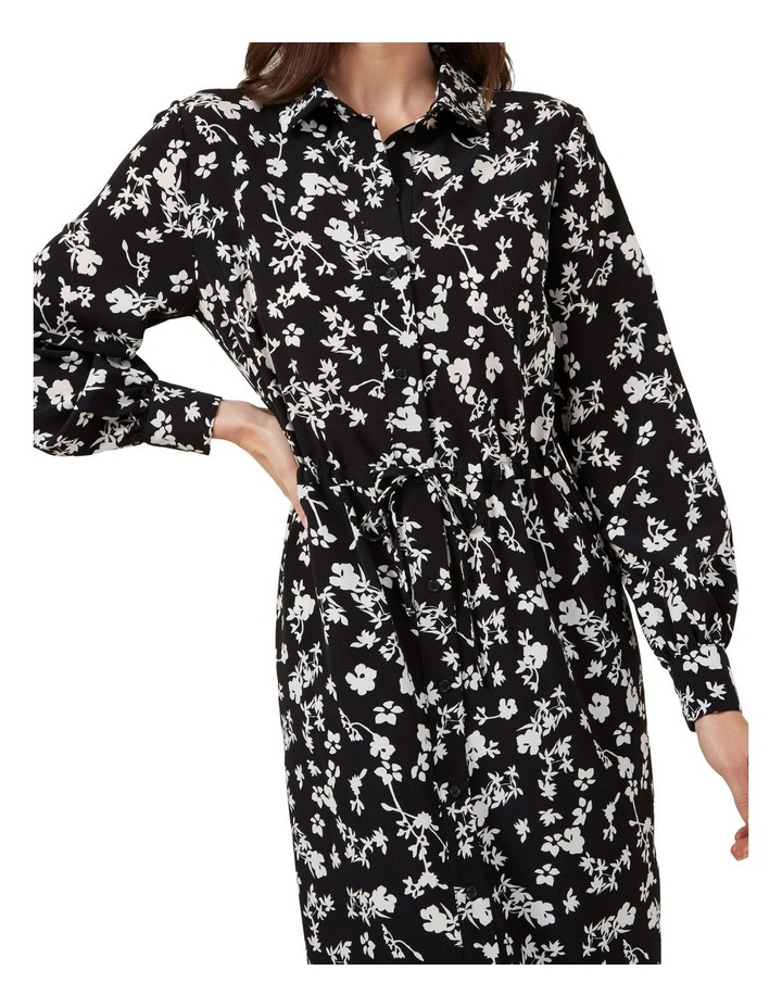 Floral Shirt Maxi Dress image 4