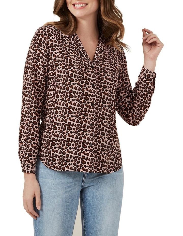 Blush Animal Print Shirt image 1