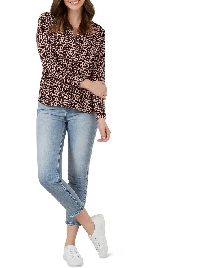 Blush Animal Print Shirt image 2