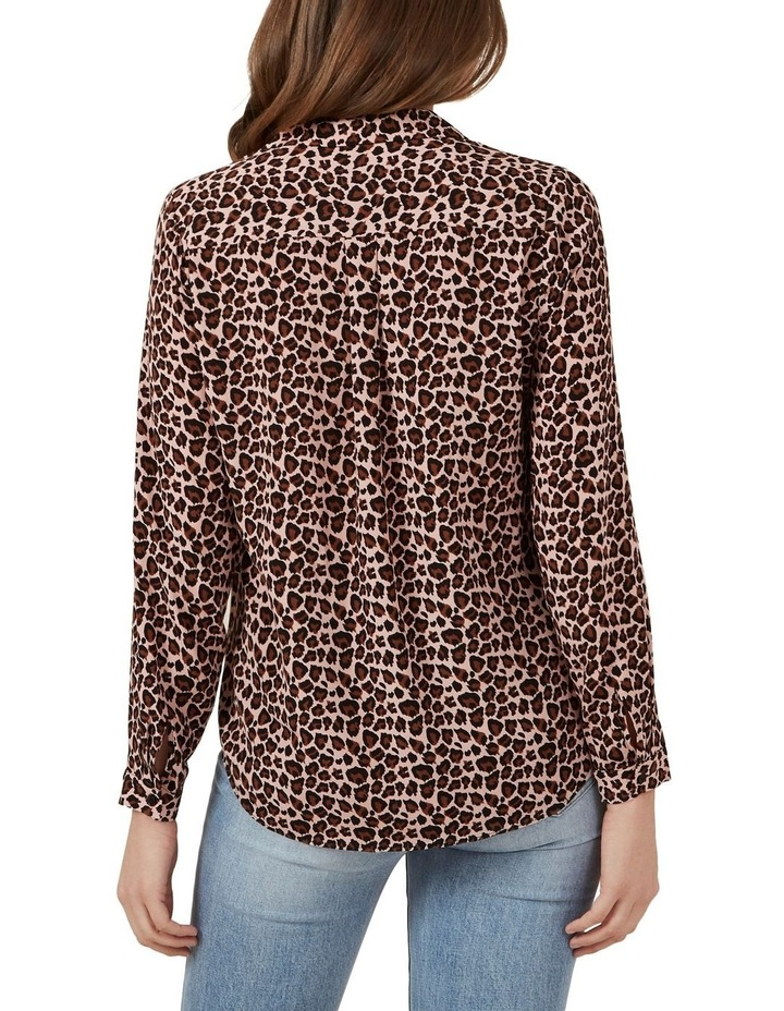 Blush Animal Print Shirt image 3