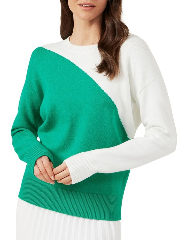 Colour Block Knit image 1
