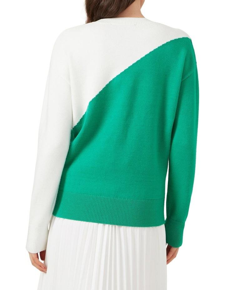Colour Block Knit image 3