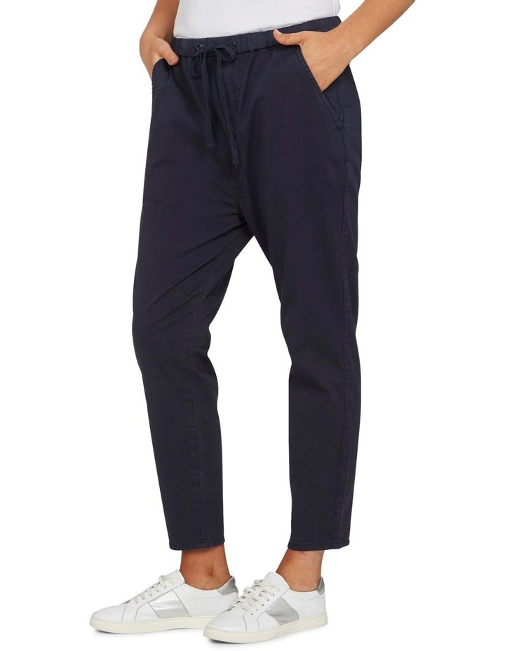 Pull On Stretch Cotton Pant image 2