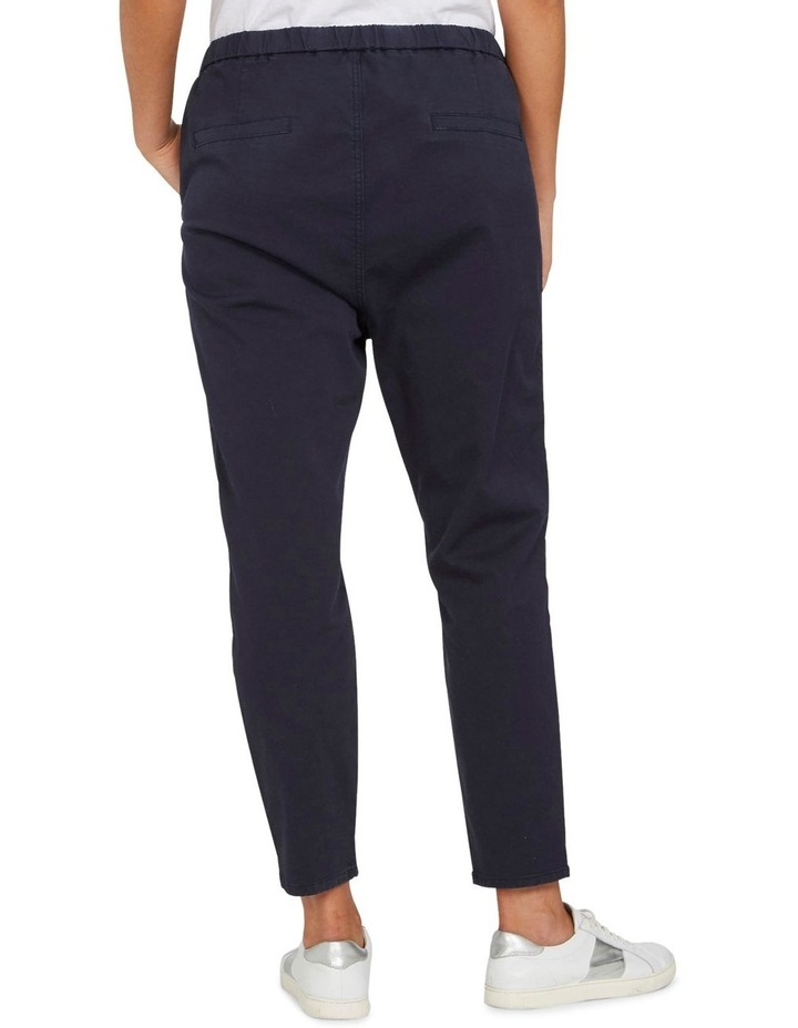 Pull On Stretch Cotton Pant image 3