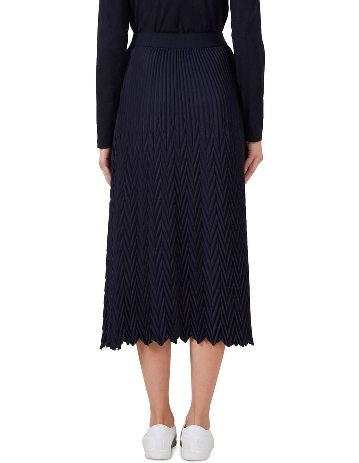 Chevron Pleated Skirt image 3