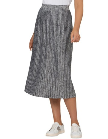 1b3e471602 French ConnectionJersey Pleated Midi Skirt. French Connection Jersey Pleated  Midi Skirt