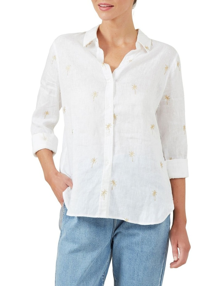 Gold Palm Foil Shirt image 1