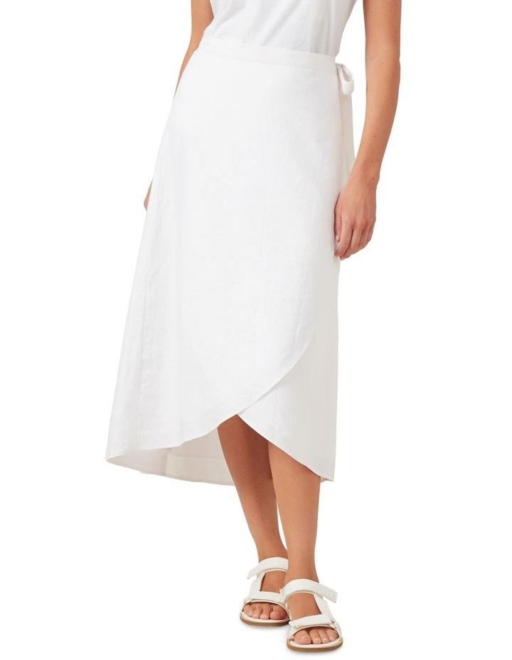 Linen Tie Up Skirt image 1