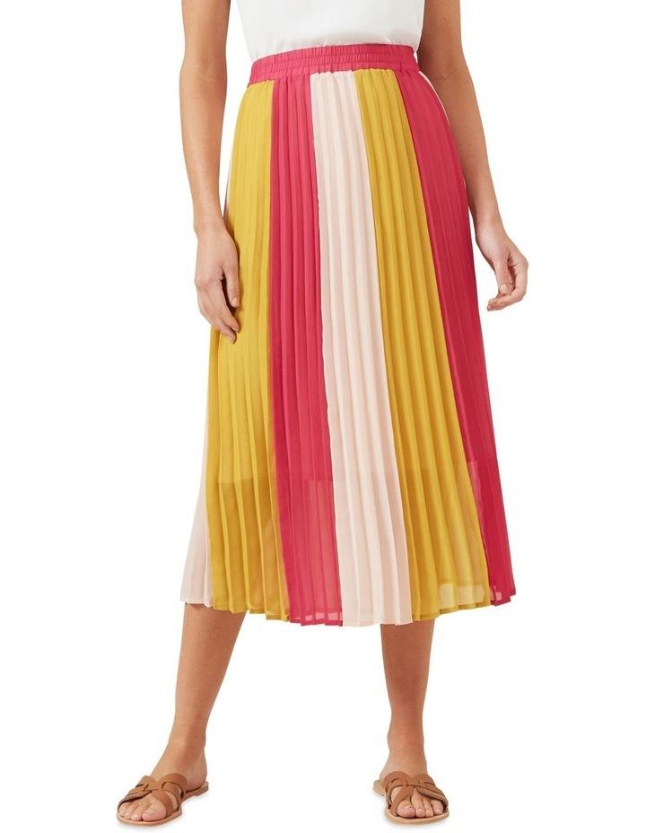 Multi Coloured Panel Skirt image 1