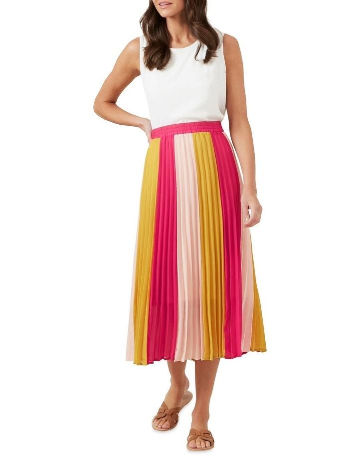 Multi Coloured Panel Skirt image 2