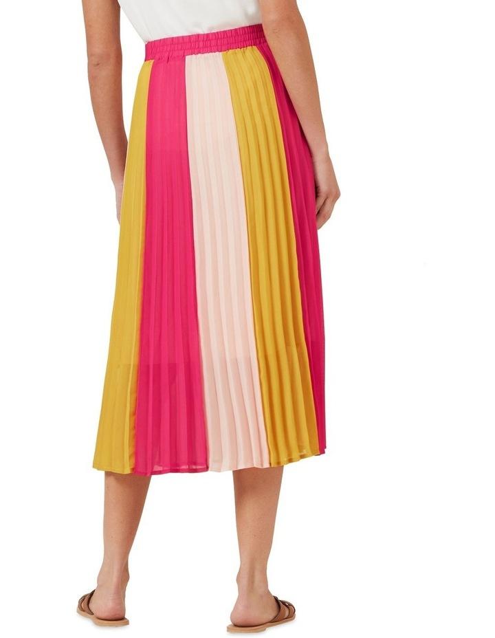Multi Coloured Panel Skirt image 3