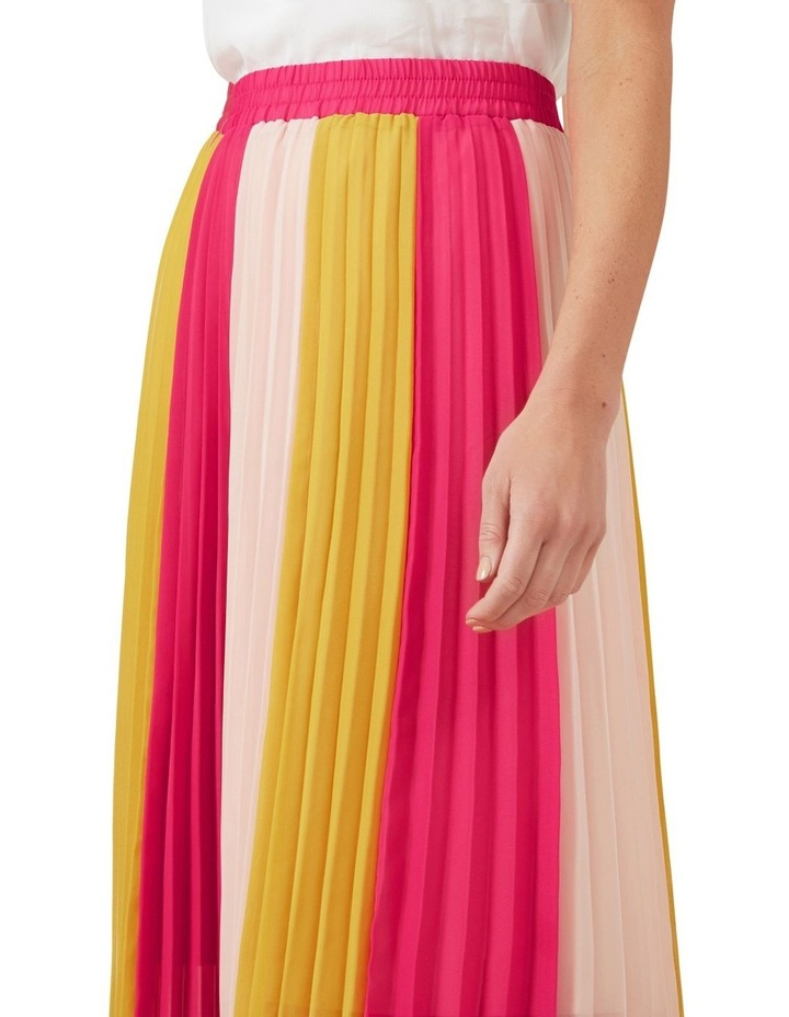Multi Coloured Panel Skirt image 4
